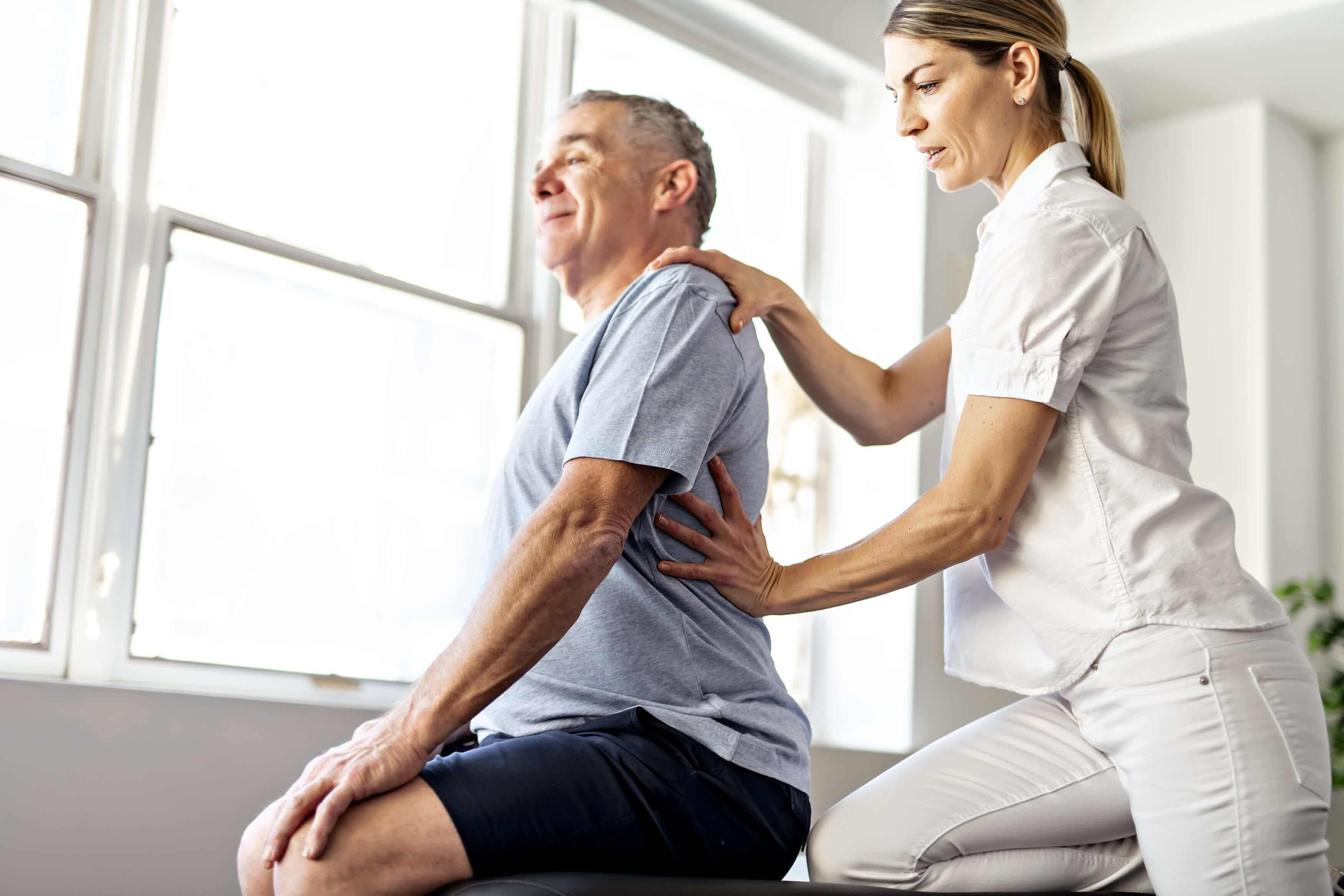 relieve chronic back pain with physical therapy